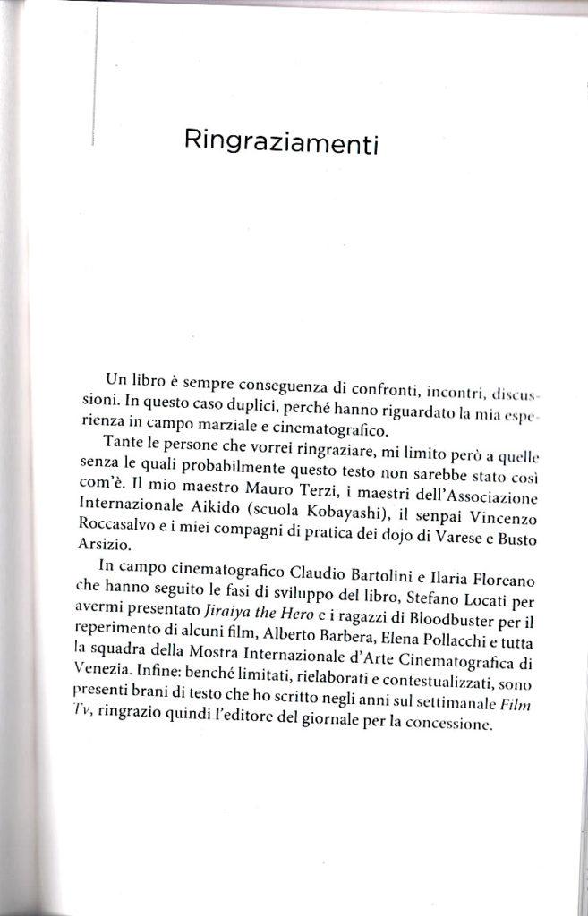 """""""CUORE E ACCIAIO"""" - Ringraziamenti"""